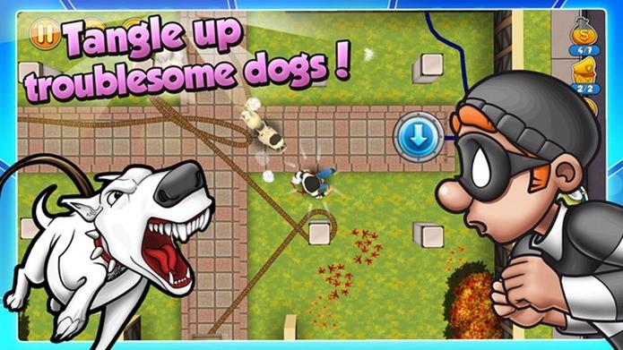 Game divertido onde o jogador controla um ladrão (Foto: Divulgação)