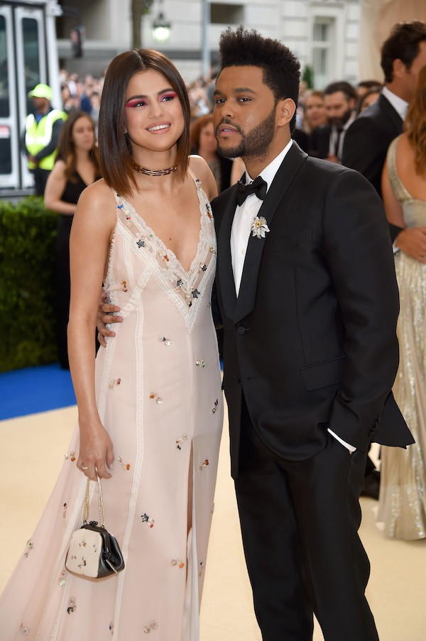 A cantora Selena Gomez e o cantor The Weeknd (Foto: Getty Images)
