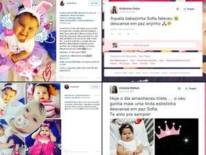 Bebê Sofia morre nos EUA após parada cardíaca