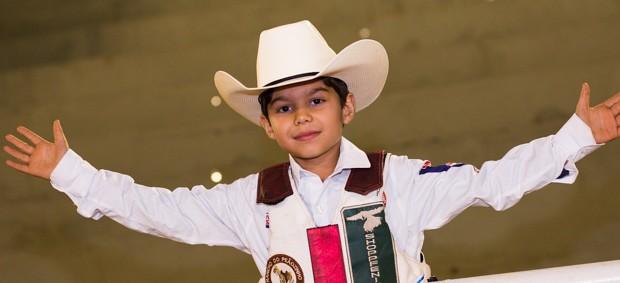 Samuel Montanha quer ser veterinário quando crescer (Foto: Èrico Andrade)