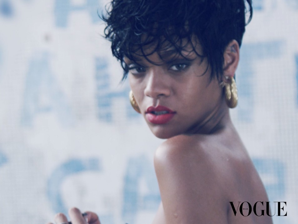 Rihanna Vogue Brasil Maio (Foto:  )
