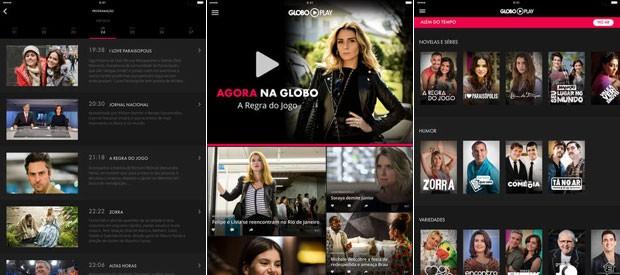 Donos de iPad têm versão do aplicativo Globo Play para curtir tudo da Globo (Foto: Globo)