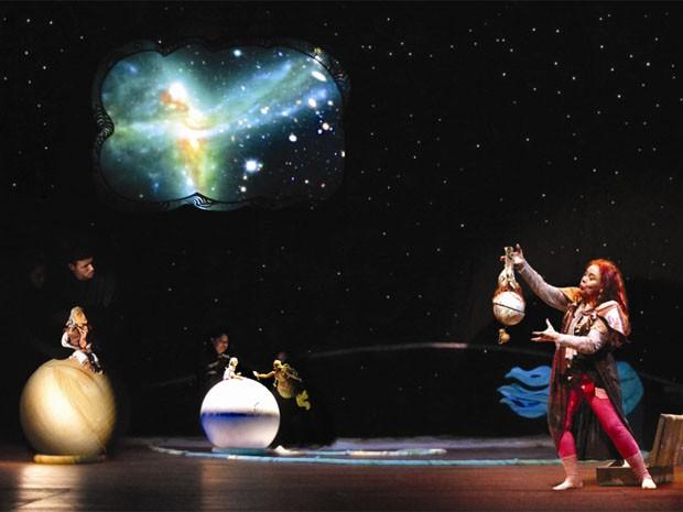 espetáculo protocolo lunar; salvador (Foto: Divulgação)