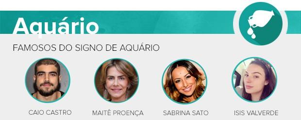 Previsão - Aquário  (Foto: Ego)