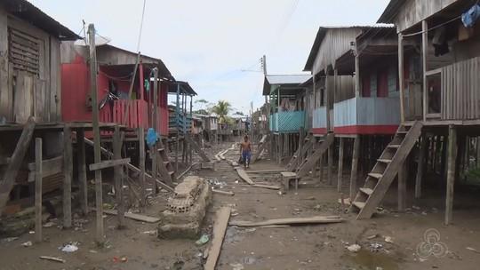 Com aumento de doenças, moradores afetados pela cheia em Tabatinga cobram ajuda humanitária