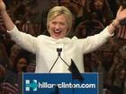 Hillary é a candidata democrata à presidência dos EUA