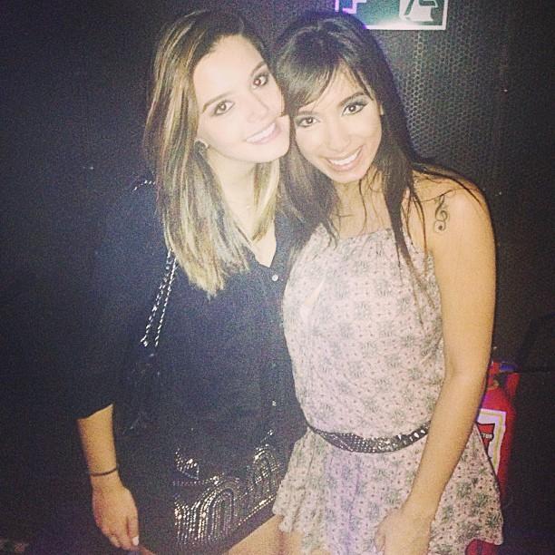 Giovanna Lancelooti e Anitta em festa da atriz (Foto: Instagram/ Reprodução)