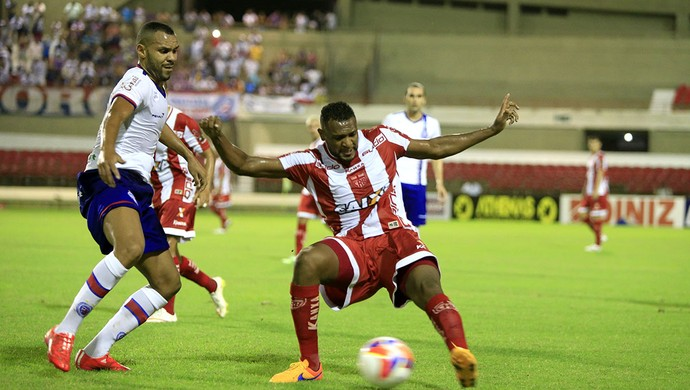 CRB x Bahia Daniel Cruz  (Foto: Ailton Cruz/Gazeta de Alagoas)