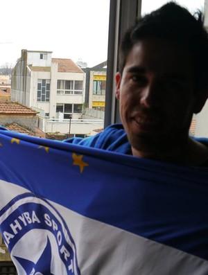 Thiago Menezes, torcedor do Parnahyba (Foto: Reprodução/Facebook)