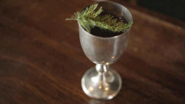 Terceiro drink com catuaba (Foto: Gil Silva)
