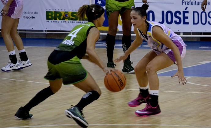 Débora Costa São José Basquete x América-PE LBF (Foto: Arthur Marega Filho/São José Desportivo)