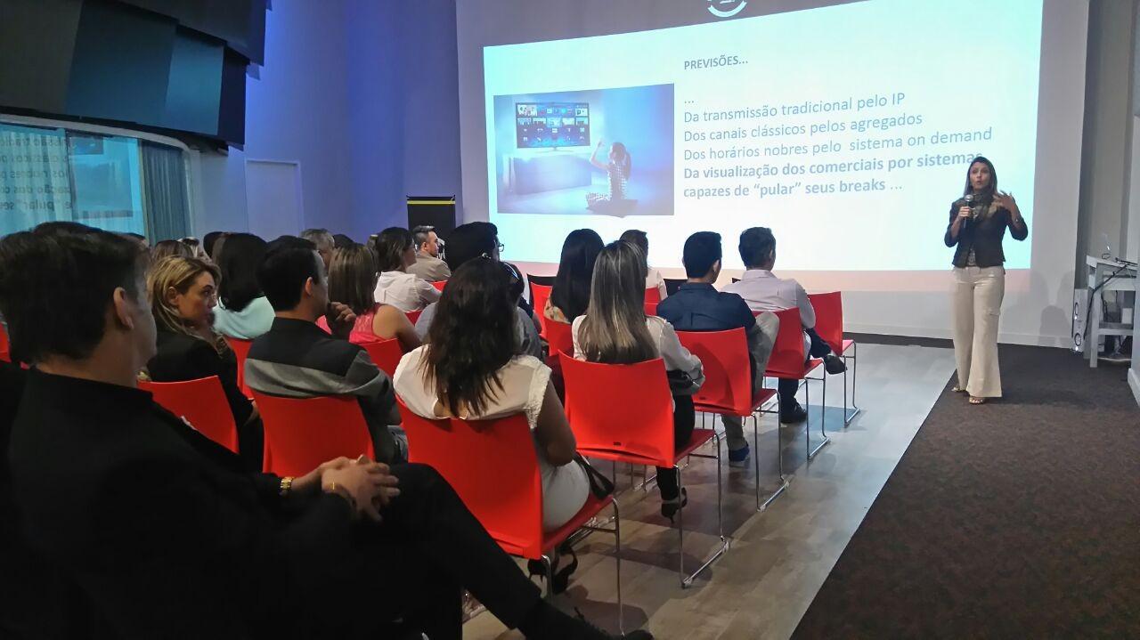 TV Asa Branca realiza café da manhã com mercado publicitário; saiba mais (Foto: Sílvia França/ TV Asa Branca)