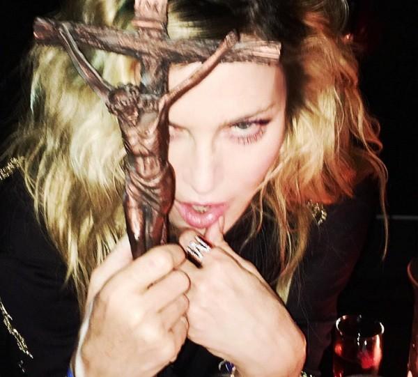 Uma das fotos postadas pela cantora na noite de Halloween  (Foto: Reprodução/ Instagram)