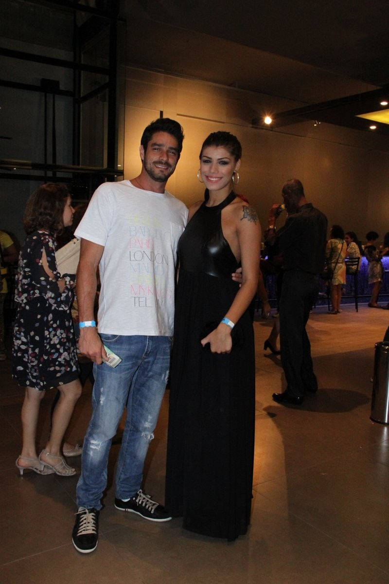 Diego e Fran (Foto: Thyago Andrade/Photo Rio News)