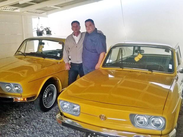 amigos que possuem Variant amarela  (Foto: Arquivo Pessoal)