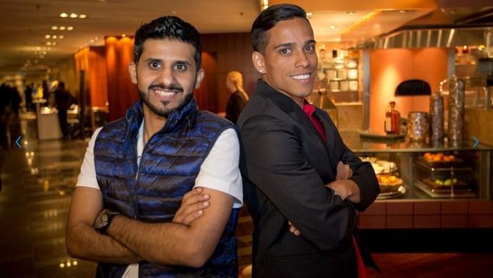 Wendell Lira e Abdulaziz Alshehri - videogame (Foto: Divulgação / Fifa)