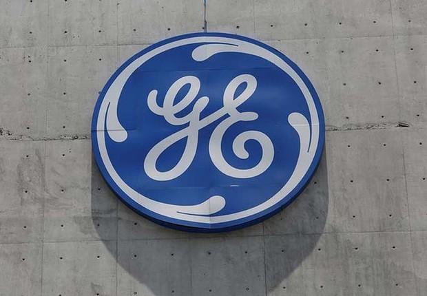 Logo da General Electric (GE) é visto no Centro Global de Operações em San Pedro Garza Garcia, no México (Foto: Daniel Becerril/Reuters)