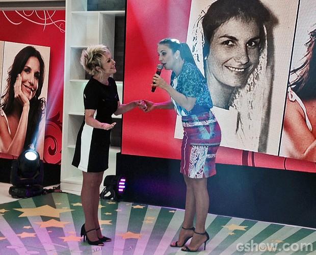 Ivete canta seus sucessos no palco do Mais Você (Foto: Mais Você/TV Globo)
