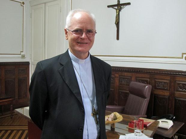 Dom Odilo Scherer é o grão-chanceler da PUC-SP (Foto: Vanessa Fajardo/ G1)