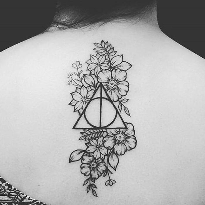 Tatuagem Harry Potter (Foto: Reprodução/Pinterest/Pdxflowerpower)