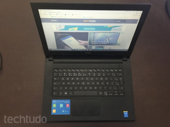 Dell Inspiron 14 Série 3000 (Foto: Thiago Barros/TechTudo)