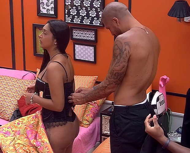 Amanda Fernando (Foto: TV Globo)