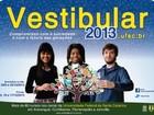 Inscrições para o Vestibular 2013 da UFSC estão abertas até 24 de outubro