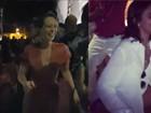 Mariana Ximenes e Bruna Marquezine dançam em festão de Tatá Werneck