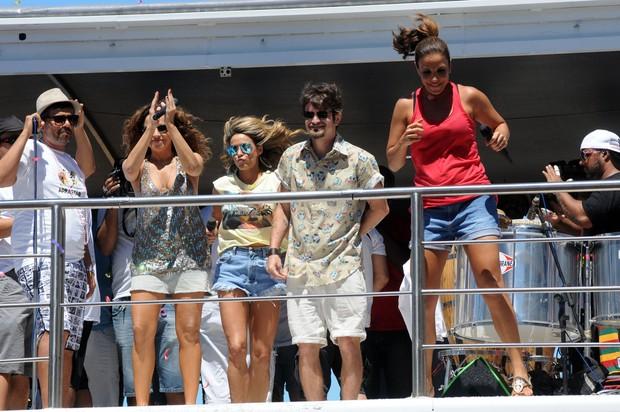 Ivete Sangalo chega ao seu trio em Salvador (Foto: Max Haack/Ag Haack)