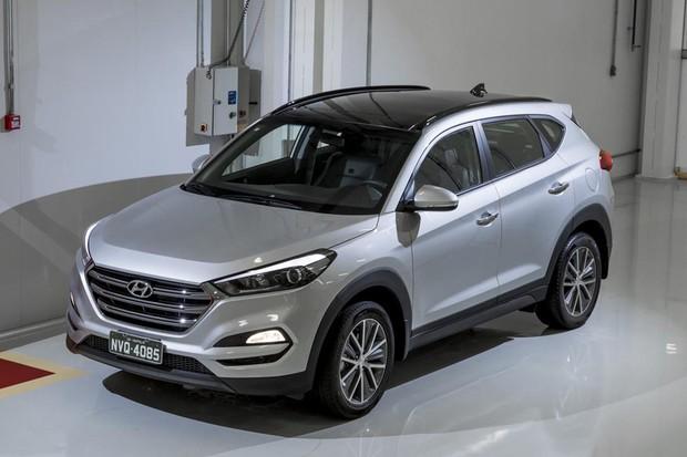 Hyundai New Tucson (Foto: Marcos Camargo / Autoesporte)