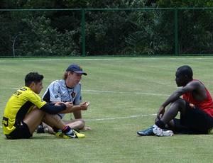 hugo cicinho sérgio guedes sport (Foto: Elton de Castro / GloboEsporte.com)