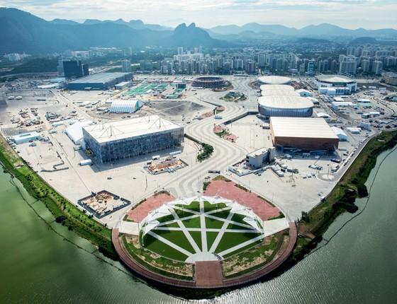 Vista do Parque Olímpico (Foto: Andre Motta/Heusi Action)