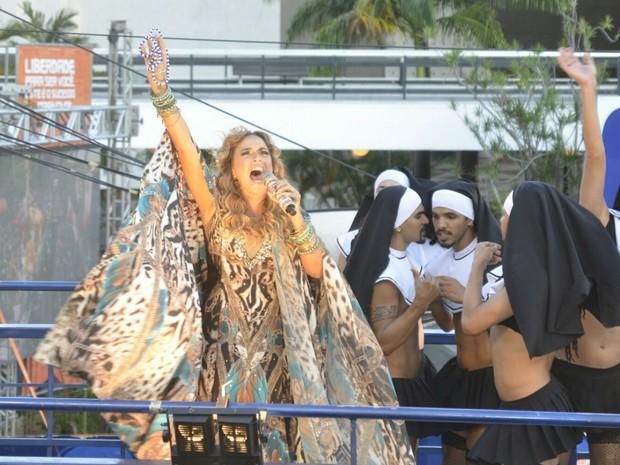 Daniela Mercury na Barra (Foto: Diogo Macedo/Ag Haack)