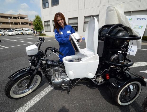 Empresa japonesa não pretende comercializar o protótipo. (Foto: Yoshikazu Tsuno/AFP)