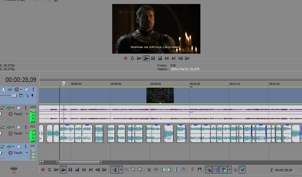 O jovem editou áudios do apresentador para refazer trailer (Foto: Reprodução/Twitter/firespyre)