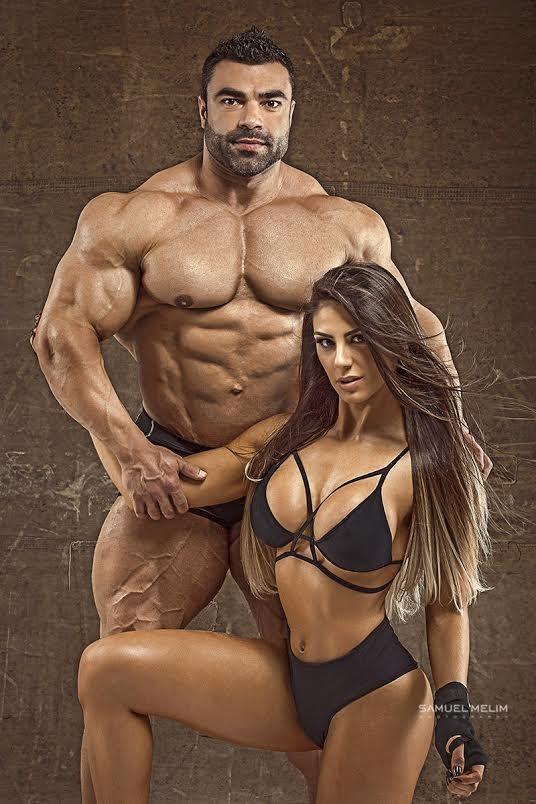 Carol Saraiva e Eduardo Correa (Foto: Samuel Mellin/Divulgação)