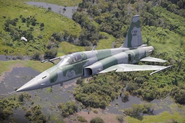 Para a operação Ágata 5 a FAB mobilizou aviões, helicópteros e aeronaves remotamente pilotadas (ARP) (Foto: Agência Força Aérea)