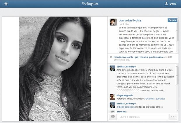 Camilla Camargo (Foto: Instagram / Reprodução)