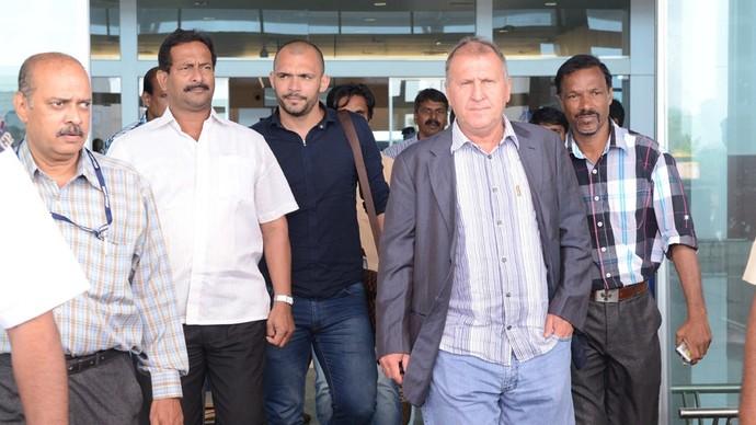 Zico chega à Índia para assumir Goa FC (Foto: Divulgação / Site Oficial)