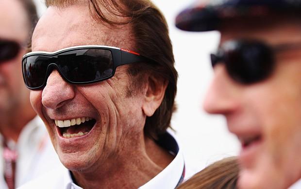 emerson fittipaldi no GP do canadá 2010 (Foto: agência Getty Images)