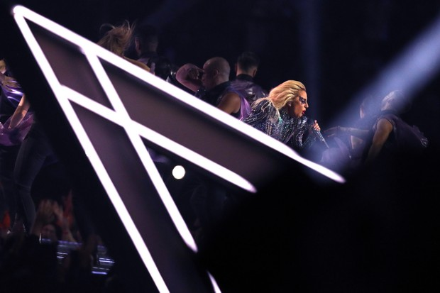 Lady Gaga no SuperBowl (Foto: Patrick Smith/Getty Images)