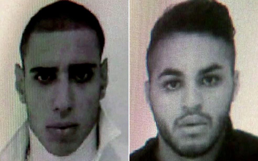 Os dois agressores identificados são Alípio Rogério Belo dos Santos e Ricardo Nascimento Martins (Foto: TV Globo/Reprodução)