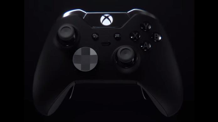Novo controle para Xbox One e Windows 10 foi apresentado (Foto: Reprodução/TechTudo)
