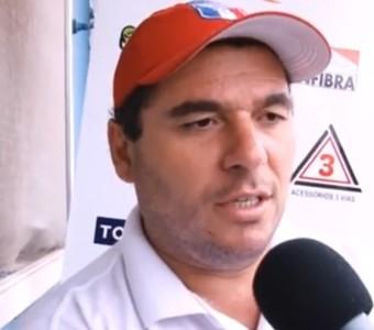 Técnico João Telê Guaratinguetá (Foto: Reprodução/Guaratinguetá Futebol)