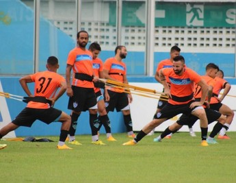 Celsinho, Paysandu, treino, Curuzu (Foto: Fernando Torres/Ascom Paysandu)