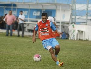 Rodrigo Fernandes, lateral-esquerdo do Paysandu durante a Série C 2012 (Foto: Marcelo Seabra/O Liberal)