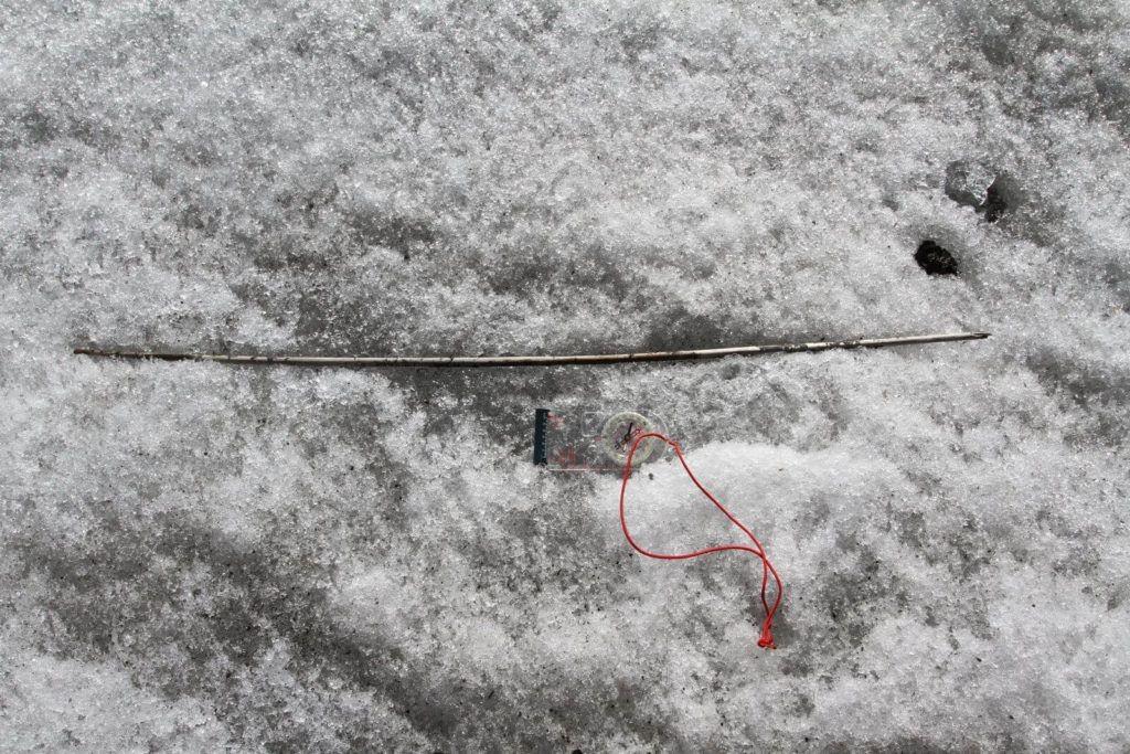 Haste de flecha, 2.000 a.C. (Foto: Øystein Rønning Andersen, Secrets of the Ice/Oppland County Council)
