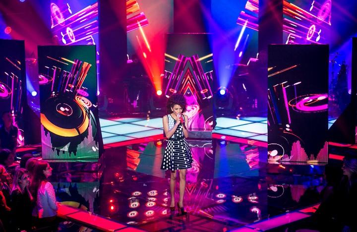 """Tori Huang cantou sucesso """"We Found Love"""" em sua apresentação (Foto: Isabella Pinheiro/Gshow)"""