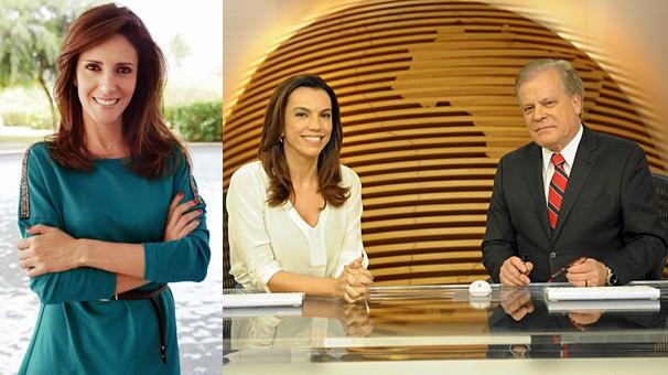 Monalisa Perrone comanda o Hora Um; Bom Dia Brasil ganha mais tempo de duração com estreia do jornal (Foto: Globo)