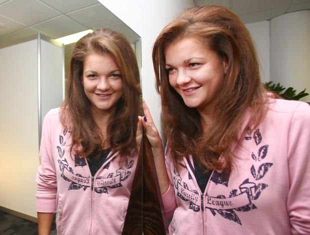 Radwanska cabeleireiro Aberto da Austrália (Foto: Getty Images)